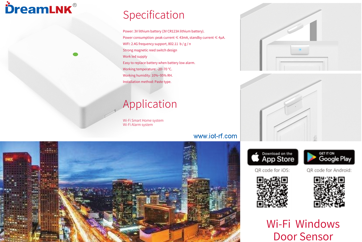 WiFi Window Sensor